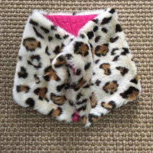 Leopard Neck Wrap